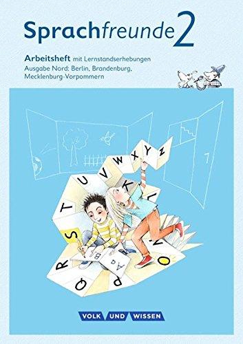 Sprachfreunde - Ausgabe Nord - Neubearbeitung 2015: 2. Schuljahr - Arbeitsheft: Schulausgangsschrift
