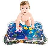 YGJT Alfombra de Juego Inflable para Bebé Estera de Agua 66x50cm Tiempo de Tummy Divertido Baby Play Activity Center Alfombra Bebe en EAN Estera Impermeable Juguete para Bebe 6 Meses sin BPA