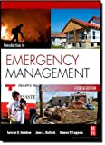 Introduction to Emergency Management, Fourth Edition by Haddow, George, Bullock, Jane, Coppola, Damon P. (2010) Hardcover