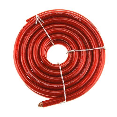 Creare idea rossa 21 mm? cavo di avviamento per batteria, 170 a, 5 m, hi-flex in pvc, compatibile con auto