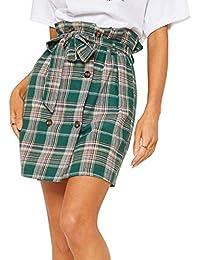 b0c076169a4c Amazon.it  Trapezio - Gonne   Donna  Abbigliamento