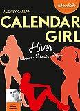 calendar girl 1 hiver janvier f?vrier mars livre audio 1 cd mp3