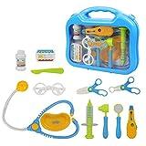 Py Doctor Lot en Medical CarryCase Doctor Nurse Jeu de rôle Toys Pretend Play pour Enfants Cadeaux