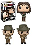 Funko POP! Stranger Things: Joyce + Hopper w/ Donut - Netflix Stylized Vinyl Figure Set NEW