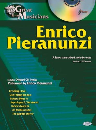 Pieranunzi Enrico Great Musicians Series Pf