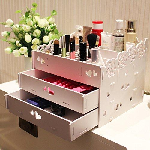 Dentelle stockage étanche boîte cosmétiques tiroir rack de stockage . 3