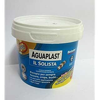 beissier aguaplast Solo White Lightweight Stucco in Pasta riempe crevices 250ml