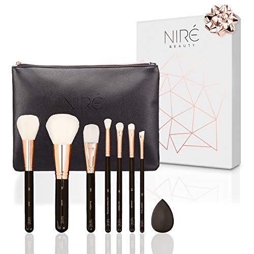 Niré Beauty Makeup Pinsel Set: Erstklassiges Schminkpinsel-Set für beliebte Make-up- Techniken|...