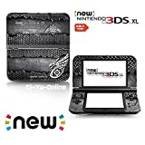 [new 3DS XL] Monster Hunter 4G #8 Black Steel Plate Limited Edition VINYL SKIN STICKER DECAL COVER for NEW Nintendo 3DS XL / LL Console System by Ci-Yu-Online