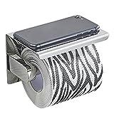 SUS304 Edelstahl Toilettenpapierhalter Papierhalter WC Rollenhalter Klopapierhalter
