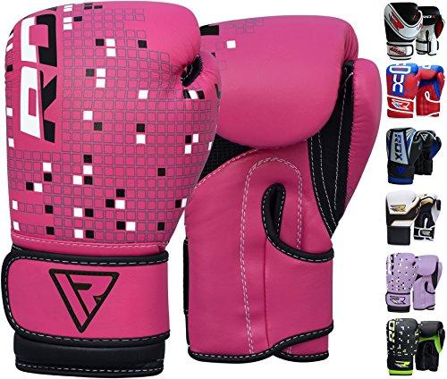 rdx-pelle-maya-hide-guantoni-boxe-bambini-4oz-6oz-guanti-sacco-allenamento-muay-thai-kick-boxing-pug