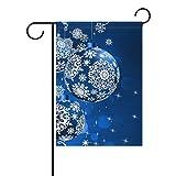 Lennel Garden Yard Bandera para el hogar, spac} Pulgadas, festividades, Navidad, Bandera Decorativa para la casa, para Bodas, Fiestas, hogar, decoración de Interiores y Exteriores, 12x18(in)