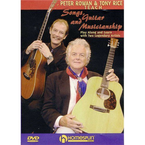 Peter Rowan and Tony Rice Teach chansons Guitar and musicia Troll Chope (DVD). Pour Guitare