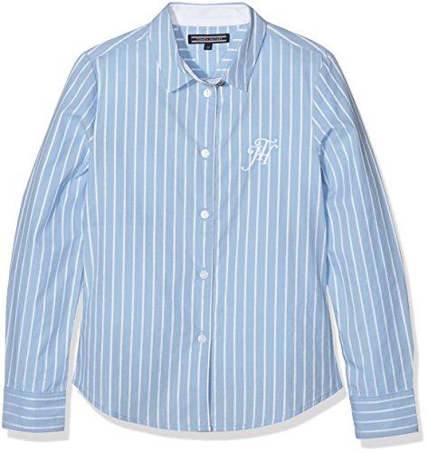 Tommy Hilfiger Dg Rope Dobby Shirt L/S, Blouse Fille Tommy Hilfiger