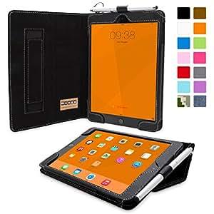 Custodia Ipad Mini 3, Snugg ™–Custodia in pelle nero, stile Smart Case con Garanzia a Vita per Apple iPad Mini 3