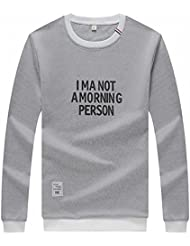 Autumn And Winter Men 'S Clothing Printed Letter Long Sleeve T-Shirt