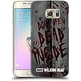 Officiel AMC The Walking Dead Mort À L'Intérieur Typographie Étui Coque D'Arrière Rigide Pour Samsung Galaxy S7 edge