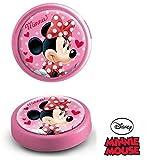 Geschenkidee Kinder - Disney Minnie Mouse großes LED Nachtlicht (13 cm Durchmesser) Pink