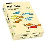 Papyrus 88042275 Druckerpapier Rainbow 80 g/m², A4 500 Blatt chamois