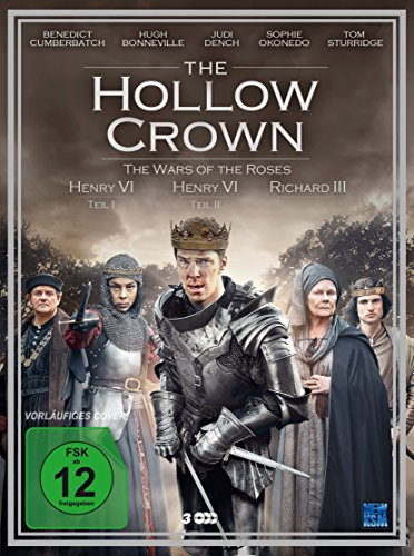 The Hollow Crown - The War of the Roses (DVD) [3 Disc Set]