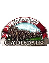 Buckle Budweiser clydesdales