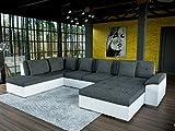 Sofa Couchgarnitur Couch Sofagarnitur SOPHIE U Polstergarnitur Polsterecke Wohnlandschaft