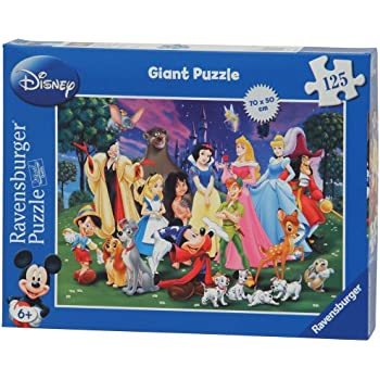 Ravensburger Disney Giant Floor Puzzle 125 Piece Amazon