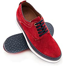 Zerimar Zapatos con Alzas Hombre| Zapatos de Hombre con Alzas Que Aumentan su Altura +
