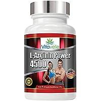 Preisvergleich für L-Arginin Super Power Formula | Extra hochdosiertes L-Aginin | 340 Kapseln | Premium Qualität Made in Germany...
