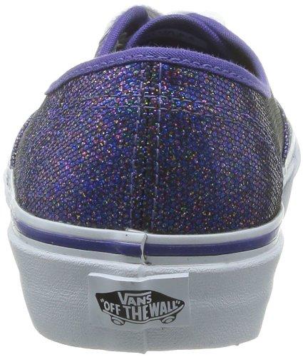 Vans U Authentic, Baskets mode mixte adulte Violet (Iridescentglit)