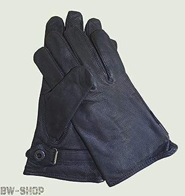 BW Lederfingerhandschuhe gef. schwarz von Mil-Tec auf Outdoor Shop