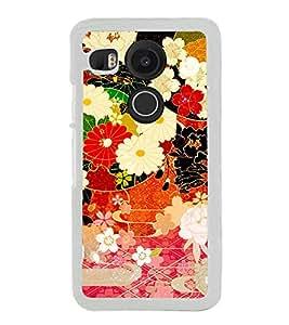 ifasho Designer Phone Back Case Cover LG Nexus 5X :: LG Google Nexus 5X New ( Music Pattern Music Symbol )