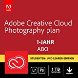 Adobe Creative Cloud Foto-Abo mit 1TB: Photoshop CC und Lightroom CC Student und Teacher | 1 Jahreslizenz | PC/Mac Online Code & Download
