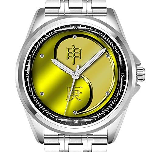 Personalisierte Herrenuhr Fashion Wasserdicht Armbanduhr Diamond_828.Monkey Yang Metall