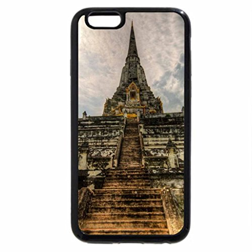 iPhone 6S / iPhone 6 Case (Black) magnificent ancient oriental temple hdr