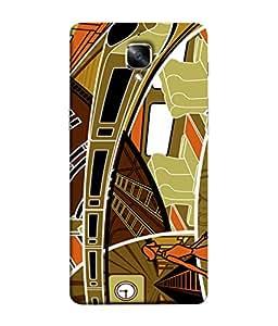 PrintVisa Designer Back Case Cover for OnePlus 3T :: One Plus 3T (City Life Metro Life in Town)