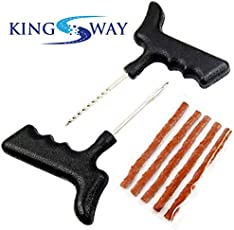Kingsway kkmpck00001 Tyre Repair Puncture Kit for All Kinds of Tubless Tires
