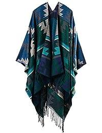 moonwind Couverture Écharpe pour les Femmes Foulards D hiver Poncho Chaud  Cap Châle Surdimensionné 81428430f62