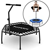 Kinetic Sports Trampoline Fitness Hexagonal Indoor Outdoor Trampoline Mini avec Poignée