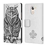 Official Bioworkz Great Horned Owl Aves Leather Book Wallet