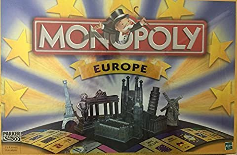Hasbro Parker 15283101 Monopoly - Europe - French / Francais