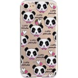 iPhone 8 Clear Case,iPhone 7 TPU Case,Ultra Thin Transparent Clear Flexible Silicone Cover for iPhone 8,Case for iPhone 7/iPhone 8 with 4.7 inch,Funny Cute 3D Romantic Flower Animal Cartoon Design Printed Drawing Pattern Soft TPU Bumper Rubber Shockproof Non-slip Protective Back Cover Case for Apple iPhone 8/iPhone 7 4.7