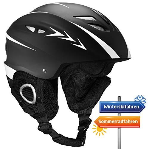 Skihelm, OMORC Snowboardhelm, Skibrille Skate helmet Fahrradhelm, Abnehmbare Ohrenklappen und...
