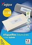 Apli 118985 Boîte de 1600 Etiquettes multi-usage MTEL A4 99,1 x 33,9 mm