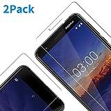 Vkaiy Schutzfolie für Nokia 3.1 2018, [2 Stück] Anti-Kratzen Panzerglasfolie, Schutzglas Glasfolie, Panzerglas Bildschirmschutzfolie für Nokia 3.1 2018