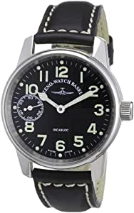 Zeno Watch Basel Men's Automatic Watch Classic Pilot 6558-9-a1 with Leather Strap