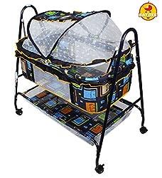 Baybee BabyNest Swing Cradle (Dark Blue)