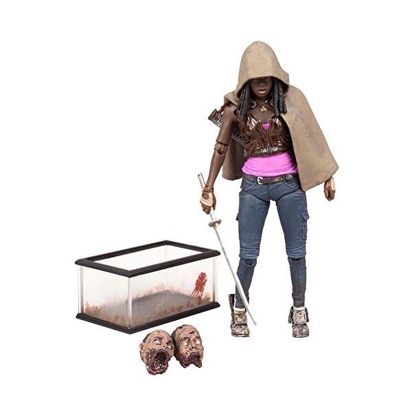 McFarlane Walking Dead TV Series Michonne Figura de acción de 5 Pulgadas 1