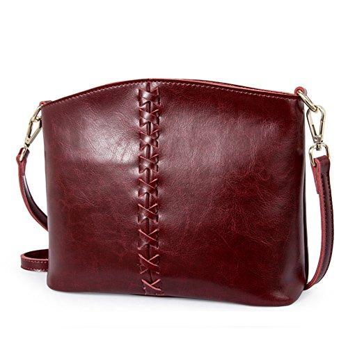 Pacchetto obliquo della signora/borsa monospalla piccola/semplice retro messenger bag-D C