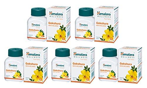 himalaya-gokshura-lot-of-5-bottles-300-caps